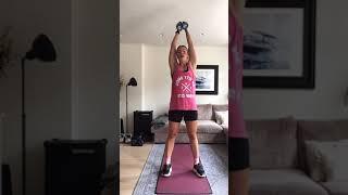 HOMEWORK Dumbell Full Body Class by Annaliisa Live 180.