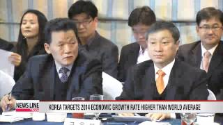 Korea to set next year's economic growth rate higher than world average