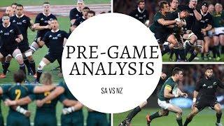 #7: Springboks vs All Blacks Pre-Game Analysis