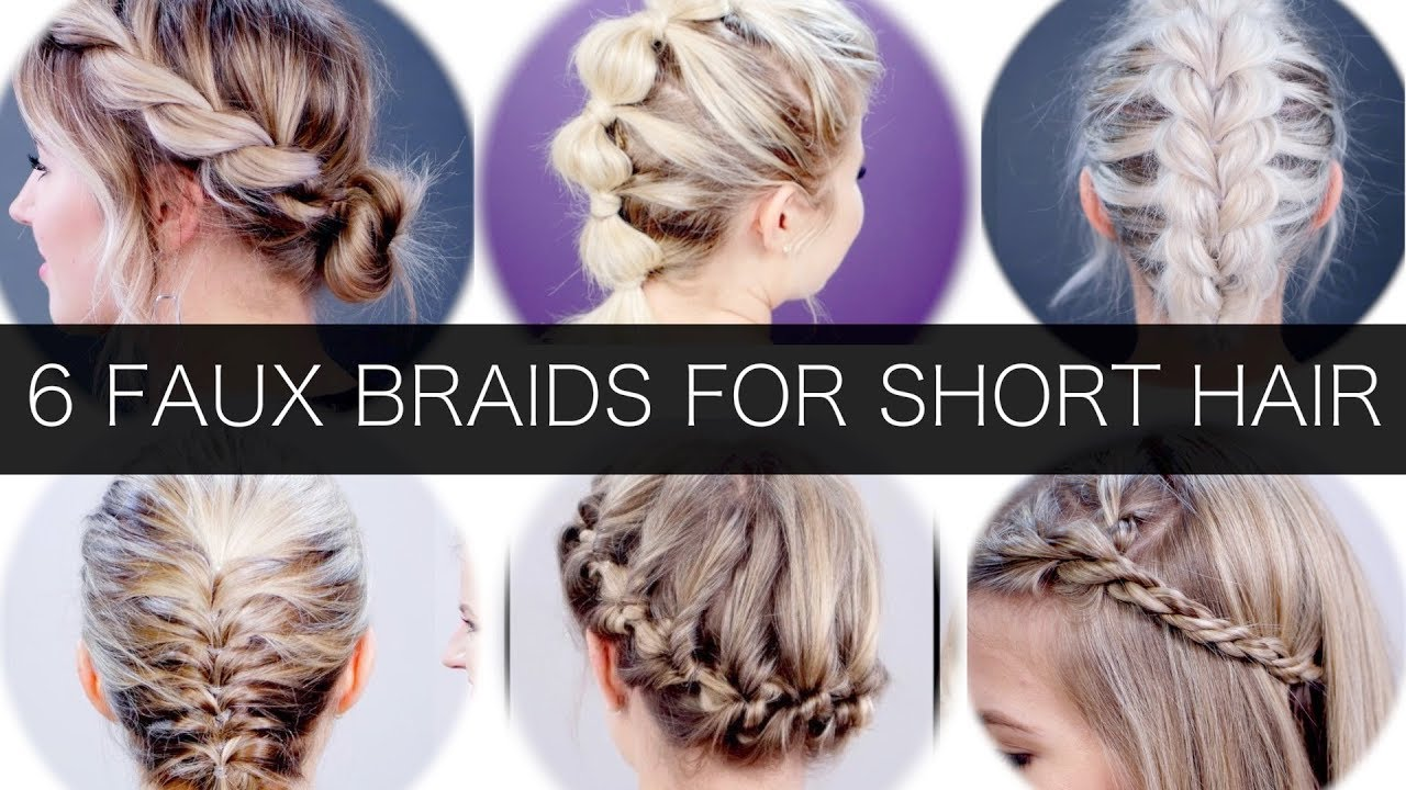6 Different Faux Braids For Short Hair Milabu