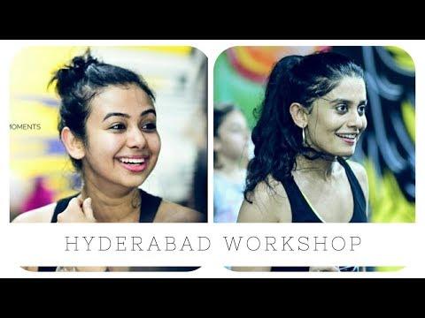 Hyderabad Workshop Vlog | Team Naach