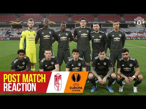 Solskjaer & James react to vital win   Granada CF 0-2 Manchester United   UEFA Europa League