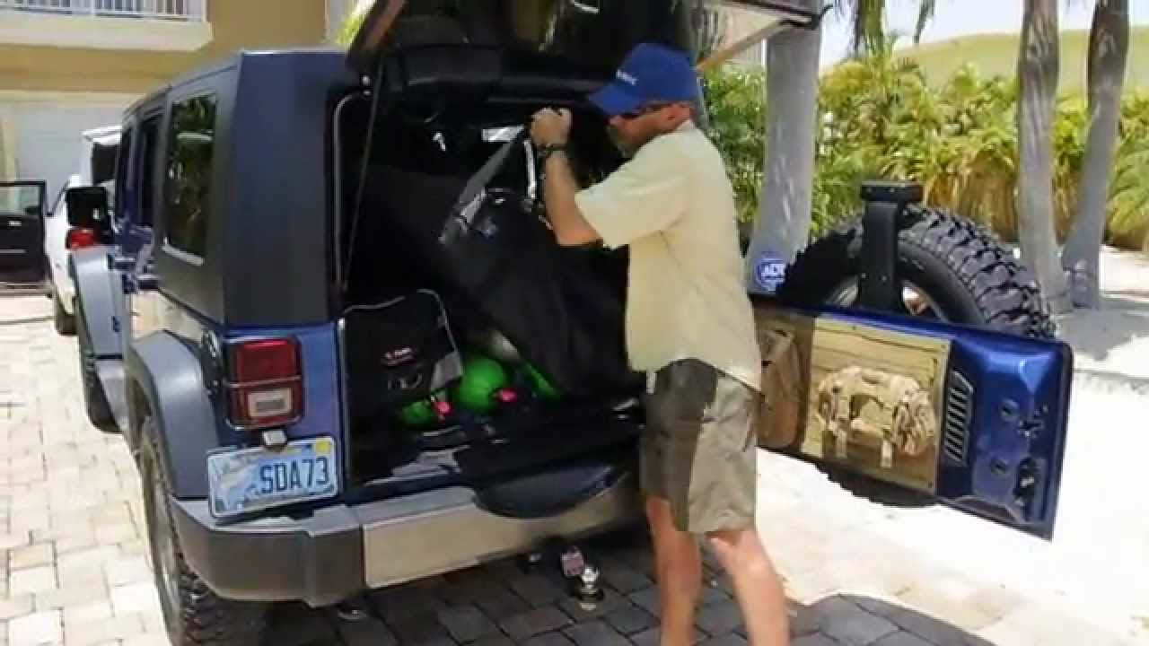 How to properly handle a scuba tank cylinder