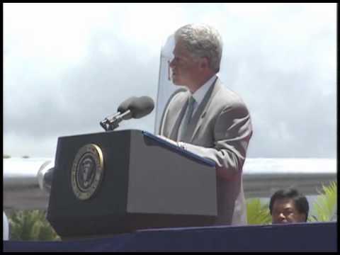 Remarks at Hickam Air Force Base