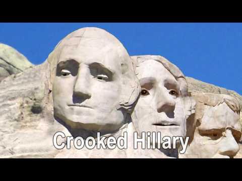 Mt Rushmore SIngers - Trump / Hillary (satire)