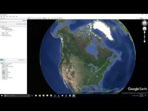 Google Earth City Names