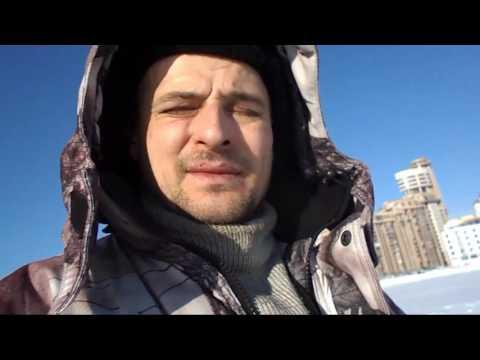 в центре Екатеринбурга. Зима.
