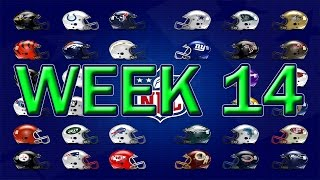 Kleschka's Picks | NFL Week 14