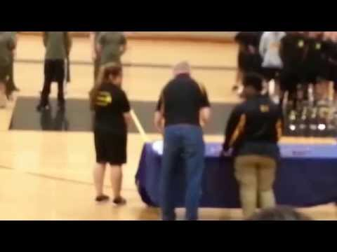 Harold L. Richards high school NJROTC wins 2nd annual District 218 JROTC Pt Competition