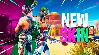 New MEXICAN LUCHA WRESTLER Fortnite Skins Gameplay