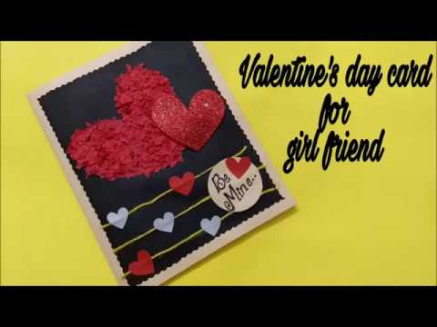 Be mine card for girlfriend/boyfriend | Diy love card idea | complete tutorial