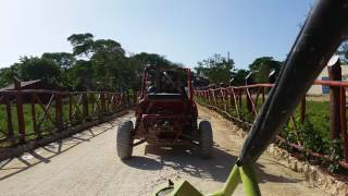 Riding Dune Buggy in Dominican Republic 2015