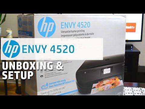Hp Envy 4520 Photo Wireless Printer W Copy Scan Air Print Touch