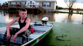 Flooding in Cairo, Olive Branch, Illinois - April 28, 2011