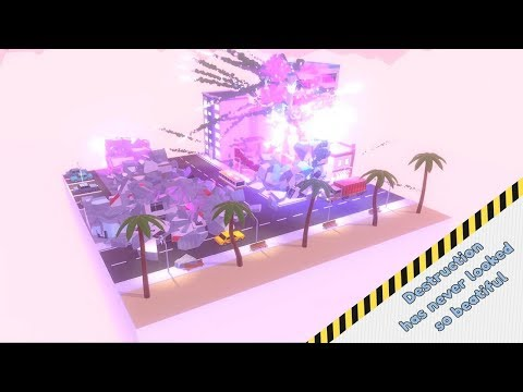 City Destructor - Demolition Game HD (Android IOS Gameplay) | Pryszard Gaming