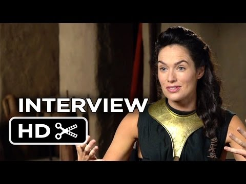 300: Rise Of An Empire Interview - Lena Heady (2014) - Action Movie HD