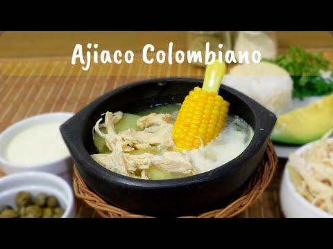 Como Hacer El Ajiaco Santafereno Receta Ajiaco Tradicional Colombiano Youtube