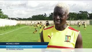 Dernier entraînement au Cameroun des Lionnes indomptables