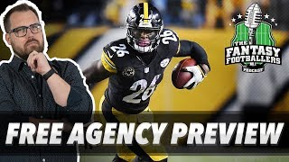 Fantasy Football 2019 - Free Agency Preview & Predictions, Big Name Busts - Ep. #695