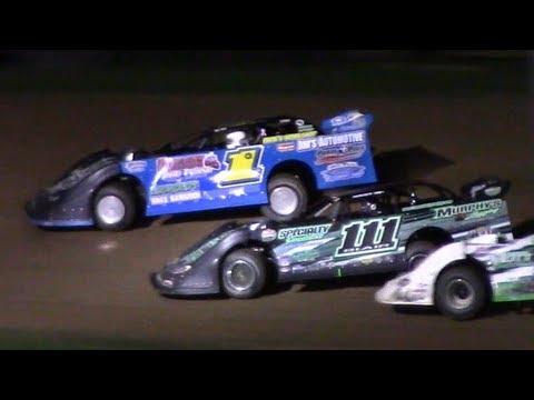 Super Late Model Heat One | McKean County Family Raceway | 9-28-18