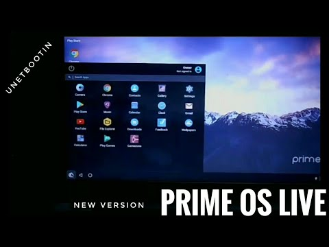 Prime OS Live with Bootable USB | No need to install Prime OS | Prime OS  New Version