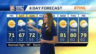 Chilly overnight with a cool start to the weekend