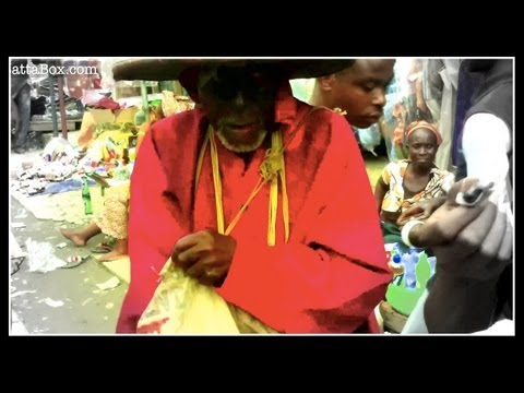 Nigeria Herbalist sells Traditional Medicine in Lagos (Real-Life Nollywood)