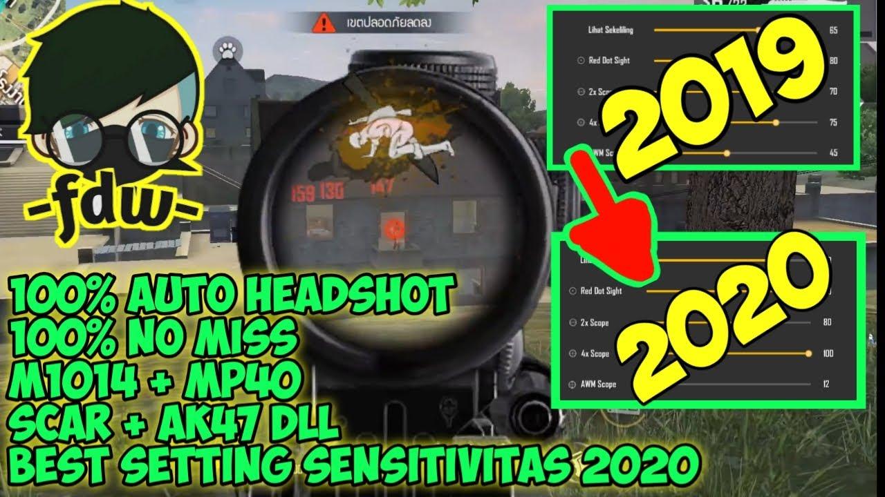 Sensitivitas Fdw 2020 Sensitivitas Auto Headshot Free Fire Garena Free Free Youtube