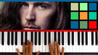 "How To Play ""Take Me To Church"" Piano Tutorial (Hozier)"