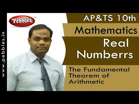Fundamental Theorem of Arithmetic : Real Numbers | Mathematics | AP&TS