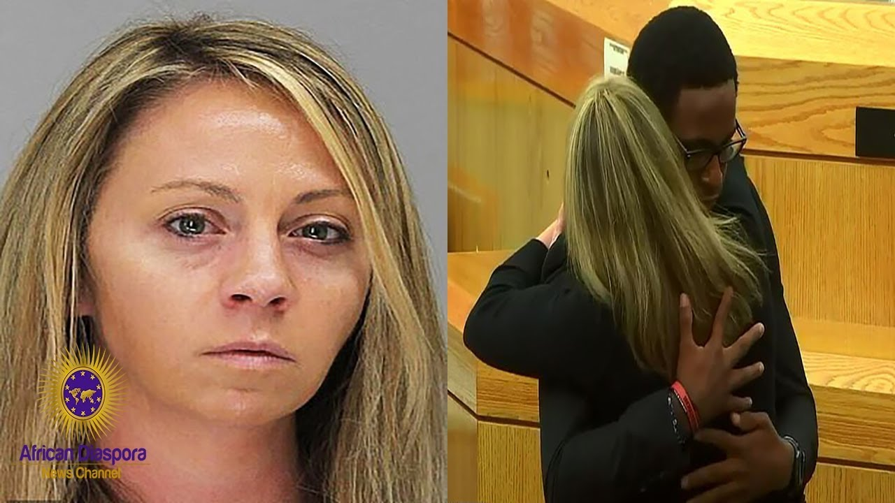 Amber Guyger Sentenced To 10 Years & Hugged By Botham Jean's Brother