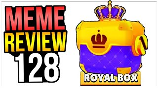 NEW BOX = ROYAL BOX?! (Skin Idea) Brawl Stars Meme Review 128