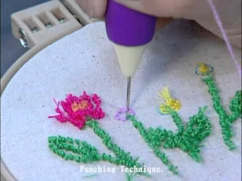 Sew Mate Punch Needle Youtube