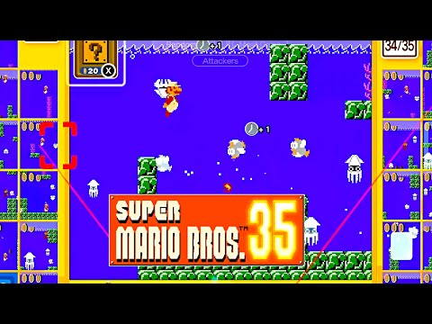 Super Mario Bros. 35 Battle Royale Gameplay #82
