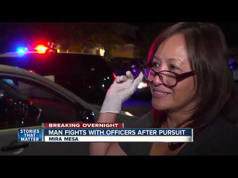 Police arrest man after chase from Tierrasanta to Mira Mesa