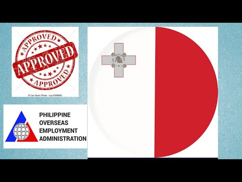 # job for filipinos   LIST OF AGENCIES APPROVED BY POEA // PINAY VLOG IN MALTA EUROPE