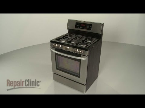 LG Gas Range Disassembly