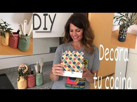 DIY Como decorar la cocina fácil / Tips decoración
