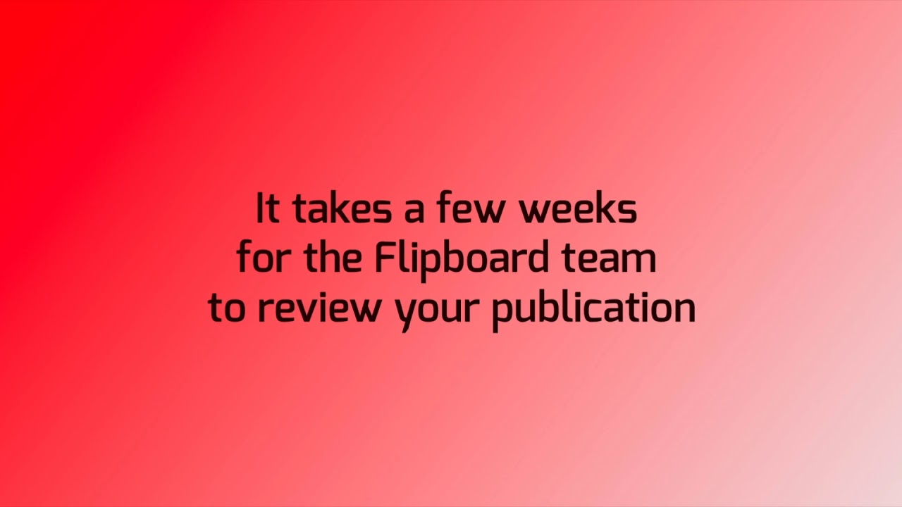 How to submit your RSS feed to Flipboard
