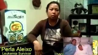 AIM Global Product Testimonial   Leukemia Survivor
