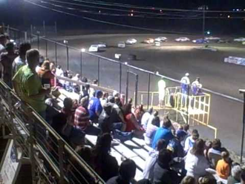 IMCA Stock Daniel Shipler #38 wins and Mike McCarthy Car #20M takes second