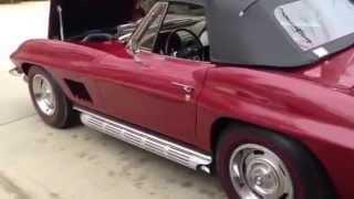 67 Corvette 427 Tri-Power Roadster with 20,100 original miles