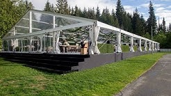 20 meter x 40 meter Clear Span Tent,  Hocker HTS, Lost Lake Whistler BC, by Rental Network Ltd