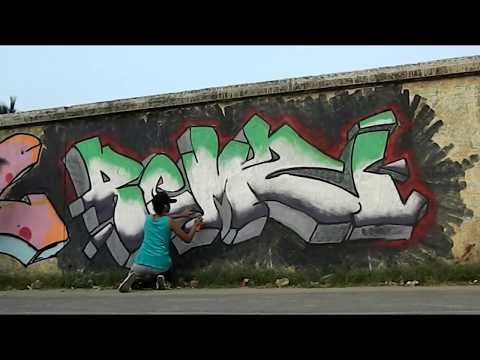 Graffiti Jam Video - Kolkata [Art Exploration Calcutta] [HD]