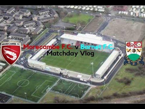 Morecambe F.C. 0 v Barnet F.C. 1 | Bring Me Sunshine | Matchday Vlog (28/04/18)