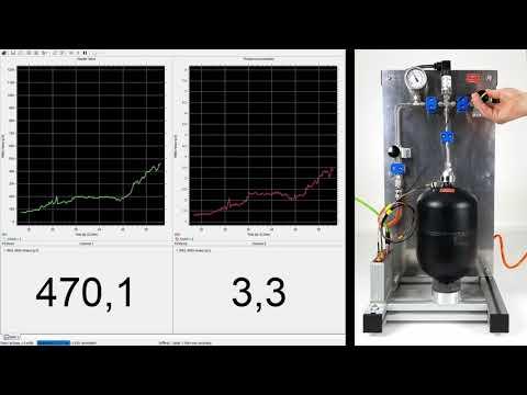 Super sensitive acoustic emission for leak detection on pressure vessels