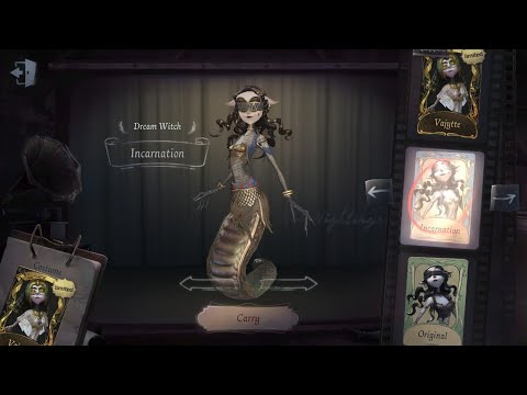 "Identity V- Dream Witch/ Witch of Dreams Gameplay ""Who needs chairs, anyway? ????"""