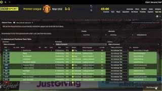 Football Manager 2014 Let's Play - Manchester United #6 | New Skin | 3D Gameplay