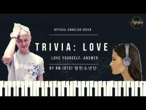 BTS (방탄소년단) - LOVE (Trivia 承) ENG + KOR COVER by Aisha Ayesha ft. RM