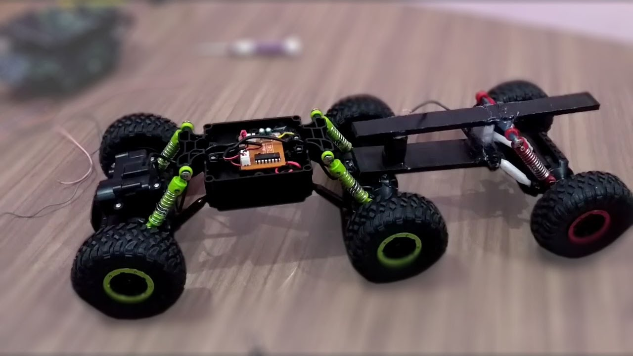 how to make 6x6 RC Truck with upgrade from 4x4 rockcrawler